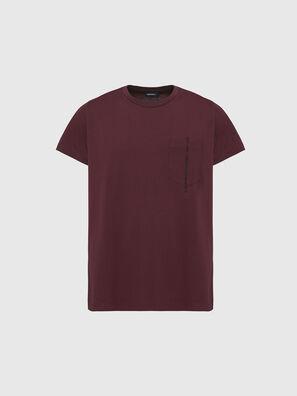 T-RUBIN-POCKET-J1, Rojo - Camisetas