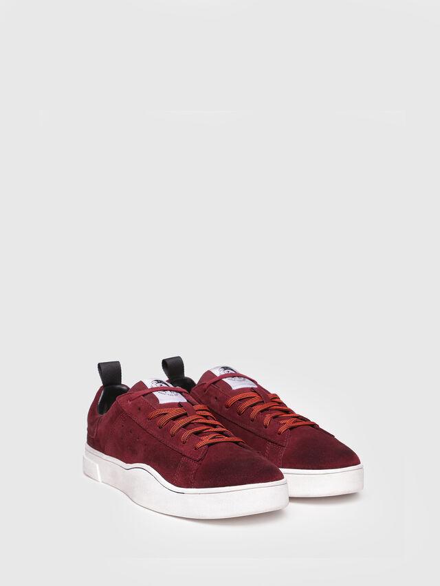 Diesel - S-CLEVER LOW, Rojo Vino - Sneakers - Image 2