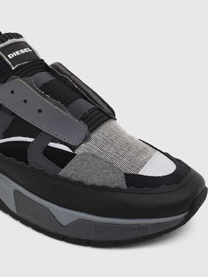 Diesel - S-BRENTHA DEC, Negro/Gris - Sneakers - Image 4