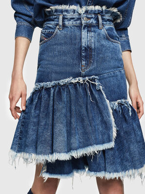 DE-ALAYNA, Azul medio - Faldas