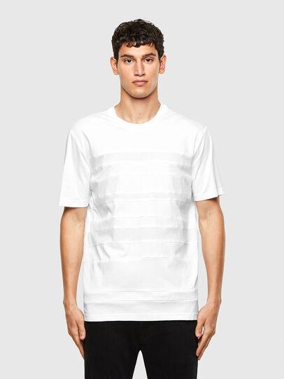 Diesel - T-LOUD, Blanco - Camisetas - Image 1