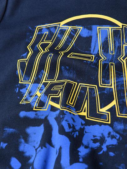 Diesel - TRAVEB, Azul Oscuro - Camisetas y Tops - Image 3