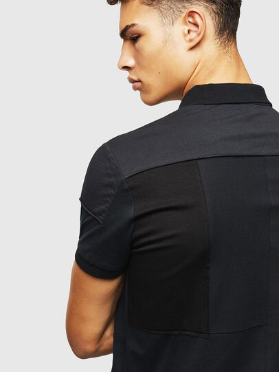 Diesel - T-POLPATCH, Negro - Polos - Image 3