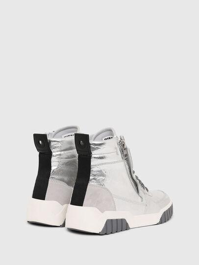 Diesel - S-RUA MID W, Plata - Sneakers - Image 3