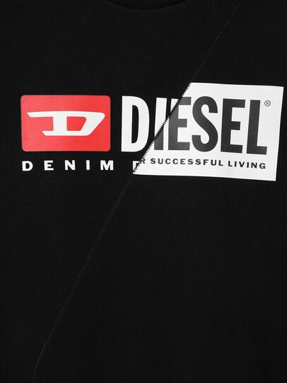 Diesel - SGIRKCUTY OVER, Negro - Sudaderas - Image 3