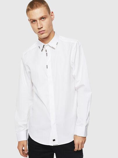 Diesel - S-MARLENE, Blanco - Camisas - Image 1