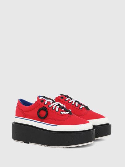 Diesel - H-SCIROCCO LOW, Rojo Fuego - Sneakers - Image 2