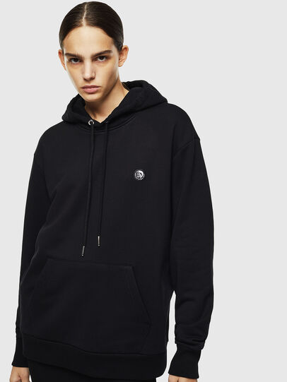 Diesel - S-AFTER, Negro - Sudaderas - Image 2