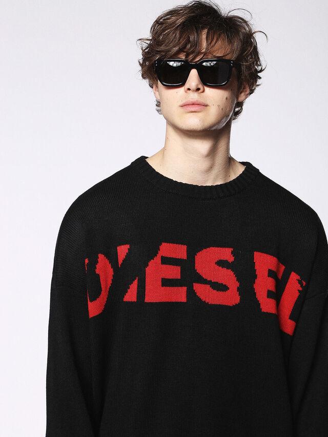 Diesel - DL0253, Negro/ Rojo - Gafas de sol - Image 5