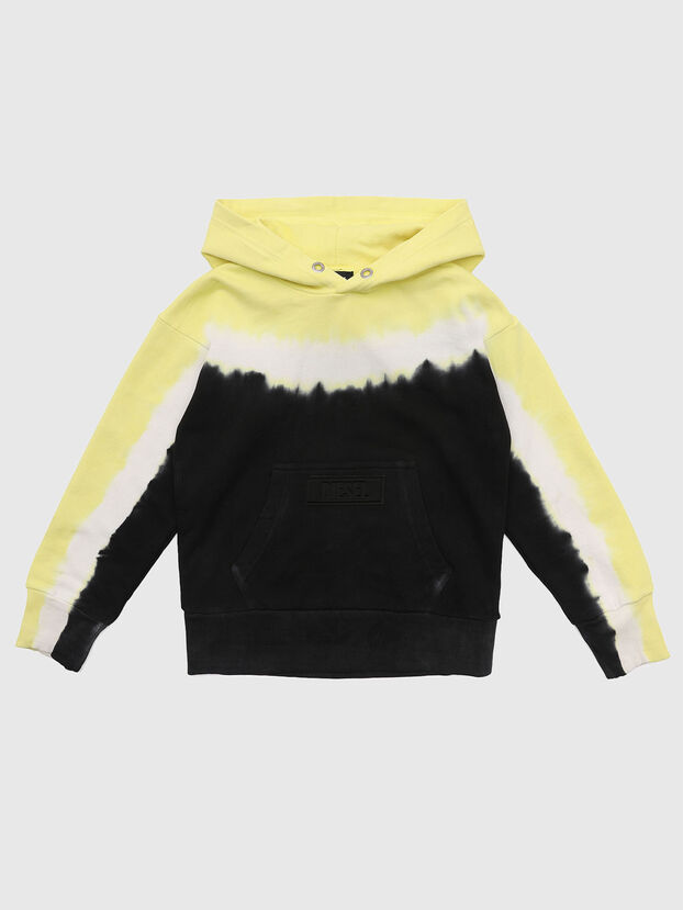 SALBYDEEP OVER, Negro/Amarillo - Sudaderas