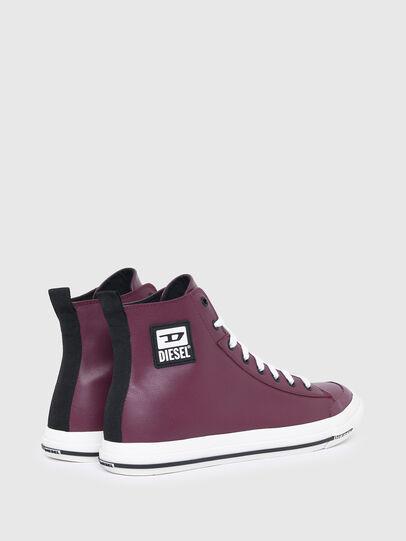 Diesel - S-ASTICO MID CUT, Violeta Oscuro - Sneakers - Image 3