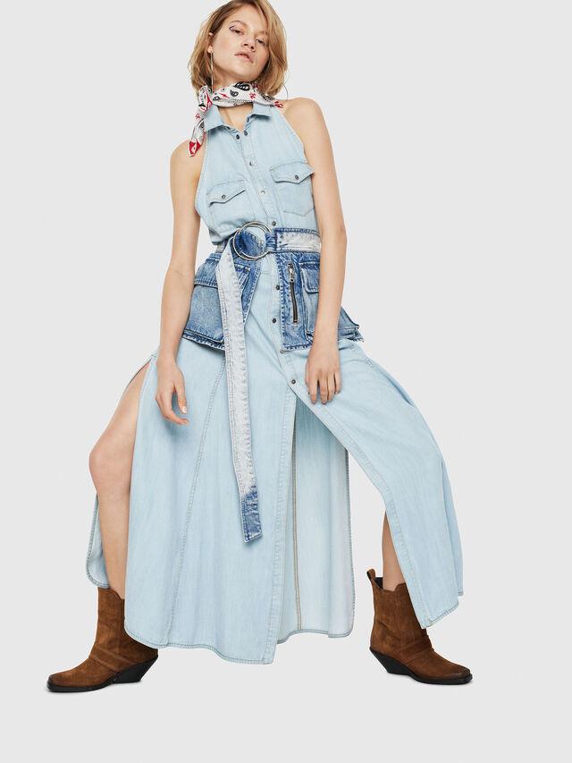 Diesel - DE-POKY, Blue Jeans - Vestidos - Image 1
