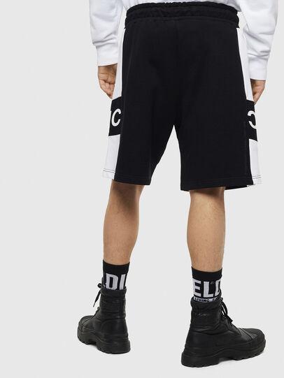 Diesel - P-SHAM, Negro/Blanco - Shorts - Image 2