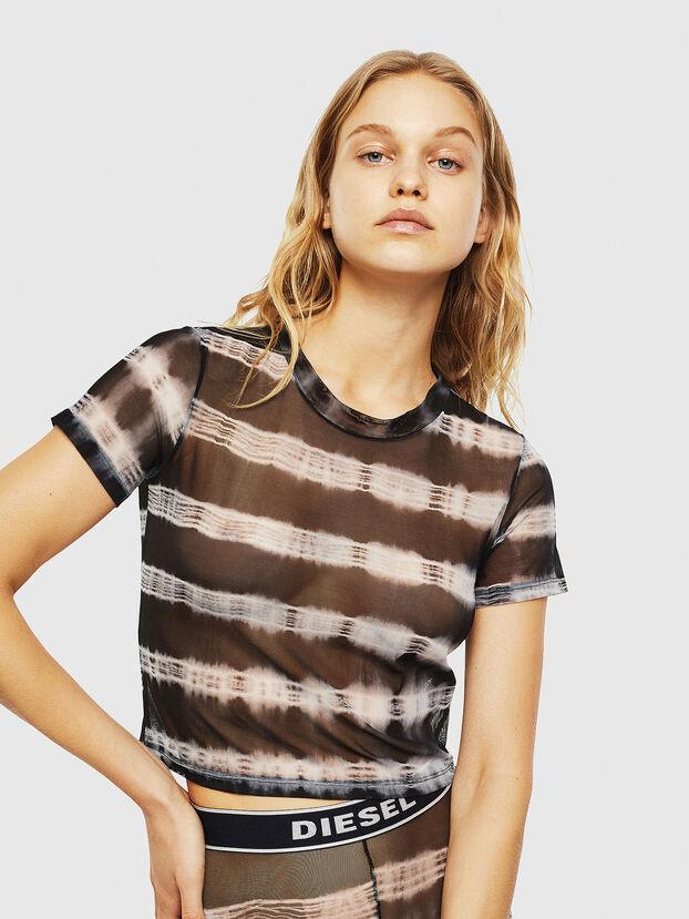 UFTEE-ROUNDFEM-M, Negro/Blanco - Camisetas