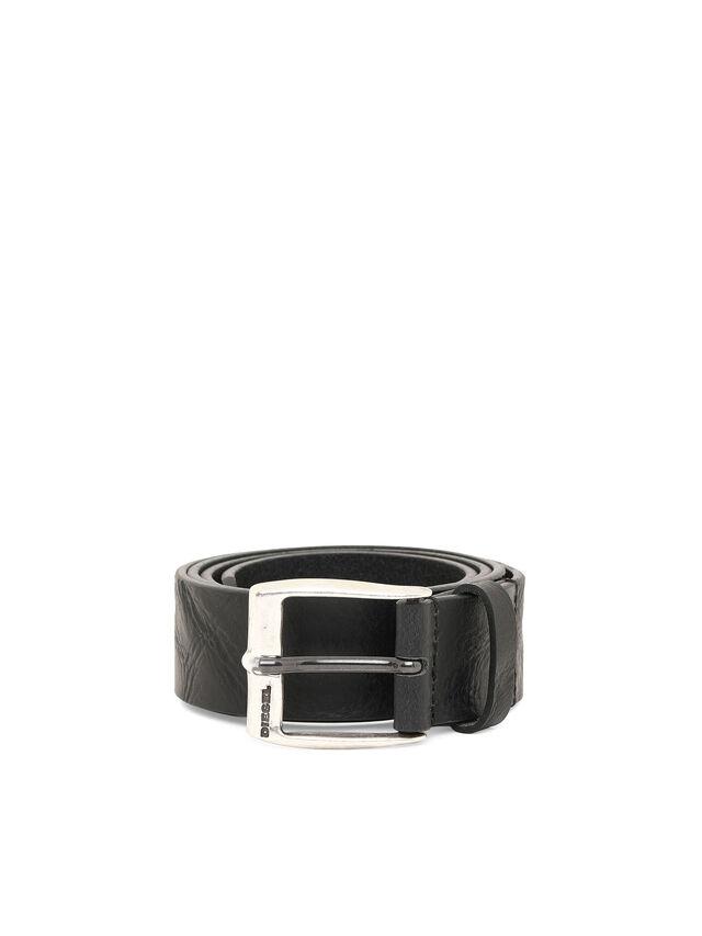 Diesel - B-WHYZ, Negro - Cinturones - Image 1
