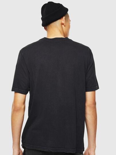Diesel - T-JUST-J3, Negro - Camisetas - Image 3