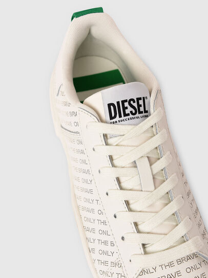 Diesel - S-CLEVER LOW LACE, Blanco/Verde - Sneakers - Image 4