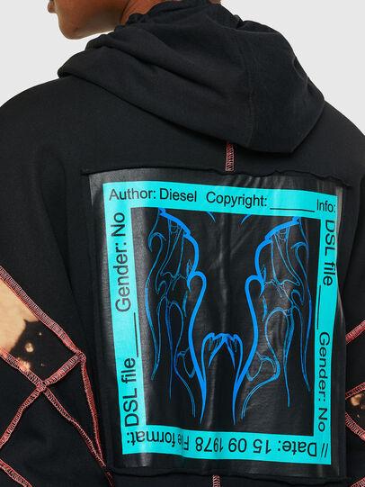 Diesel - D-RESS, Negro - Vestidos - Image 4
