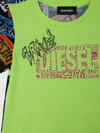 Diesel - TAIRB-R, Verde/Negro - Camisetas y Tops - Image 3