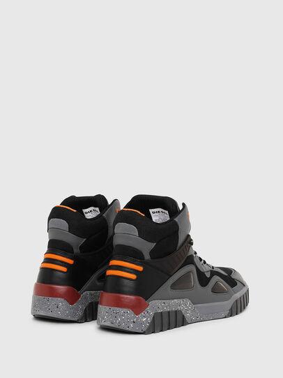 Diesel - S-RUA SP, Gris oscuro - Sneakers - Image 3