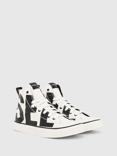 Diesel - S-ASTICO MC, Blanco/Negro - Sneakers - Image 2