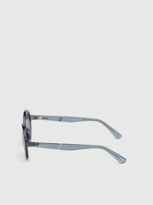 Diesel - DL0264, Azul - Gafas de sol - Image 3