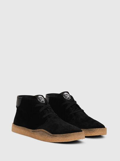 Diesel - H-CLEVER PAR DESERT, Negro - Sneakers - Image 2