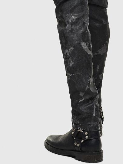 Diesel - Thommer JoggJeans 084AI, Negro/Gris oscuro - Vaqueros - Image 5