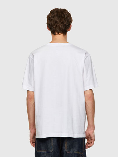 Diesel - T-TUBOLAR-B2, Blanco - Camisetas - Image 2