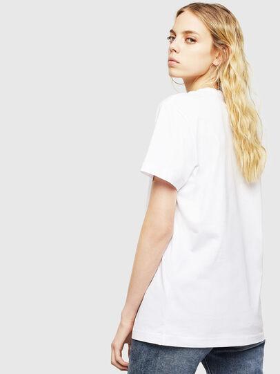 Diesel - T-DIEGO-DIV, Blanco - Camisetas - Image 4