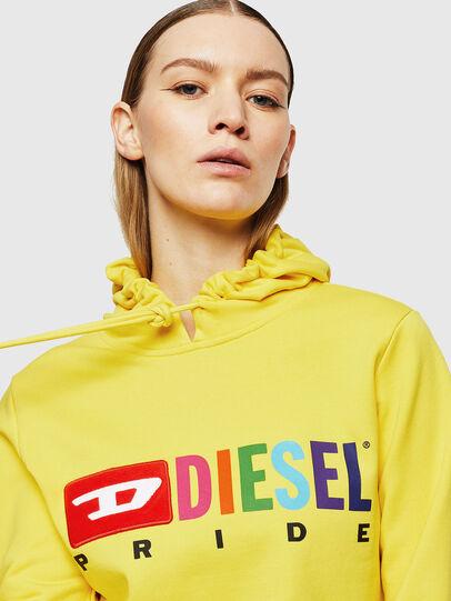 Diesel - UFLT-BRANDALWZ, Amarillo - Sudaderas - Image 3