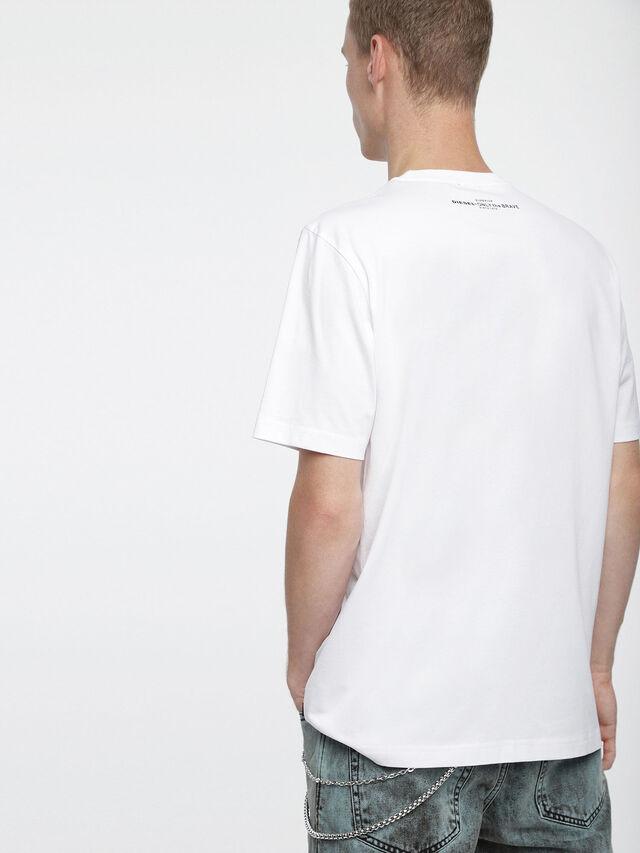 Diesel - T-JUST-XV, Blanco - Camisetas - Image 2