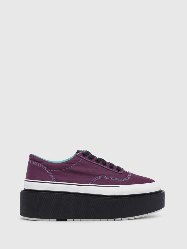 Diesel - H-SCIROCCO LOW, Violeta Oscuro - Sneakers - Image 1