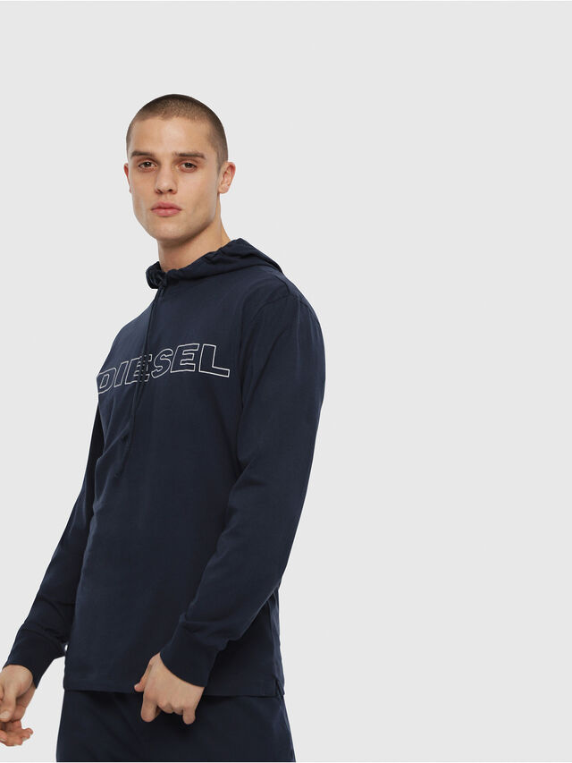 Diesel - UMLT-JIMMY, Azul Noche - Camisetas - Image 1