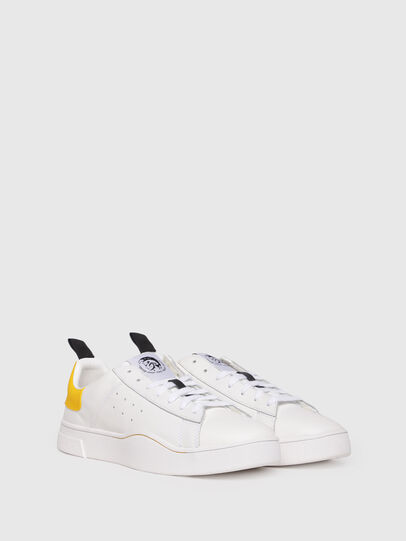 Diesel - S-CLEVER LOW, Blanco/Amarillo - Sneakers - Image 2