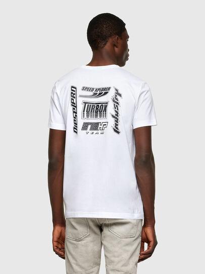 Diesel - T-DIEGOS-K42, Blanco - Camisetas - Image 2