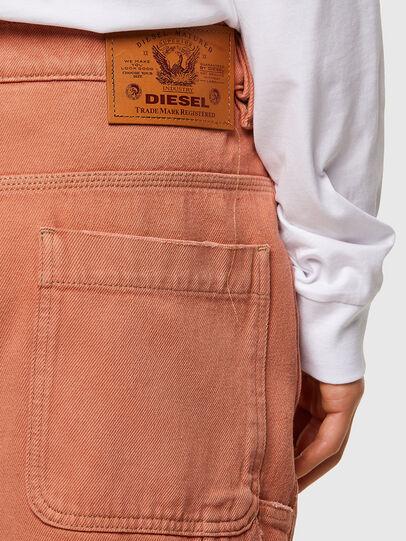 Diesel - D-FRANKY-SHORT-SP, Naranja - Shorts - Image 4
