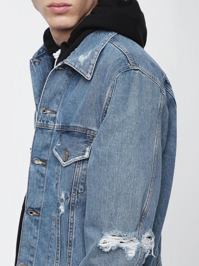 Diesel - D-ROBYN, Blue Jeans - Chaquetas de denim - Image 3