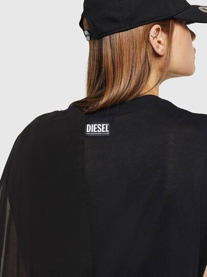 Diesel - T-AZI-A, Negro - Tops - Image 4