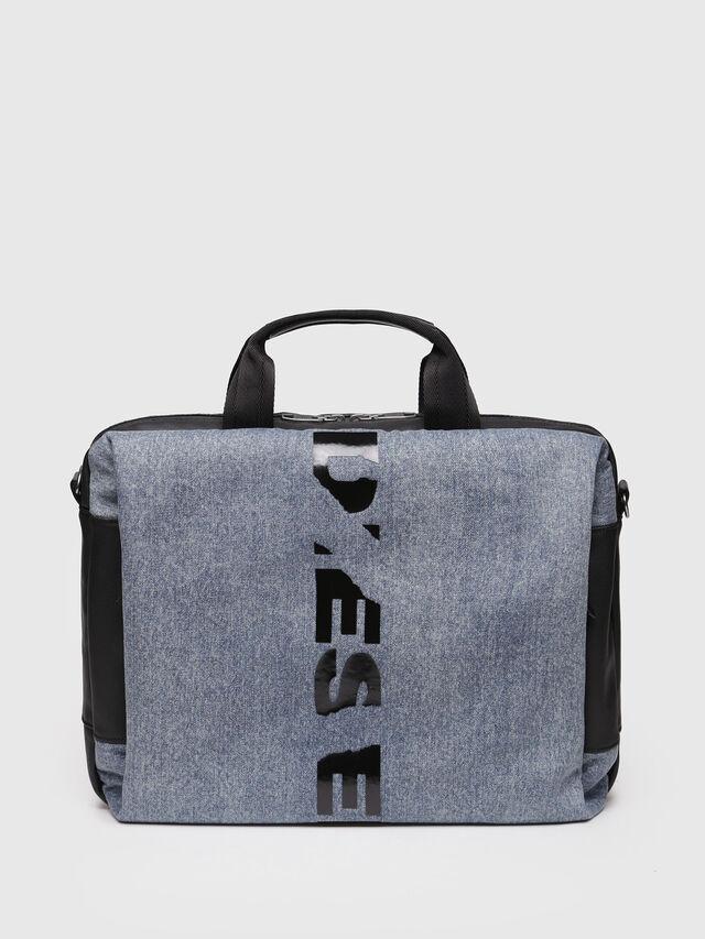 Diesel - D-SUBTORYAL BRIEF, Blue Jeans - Bolsos Shopper y Al Hombro - Image 1
