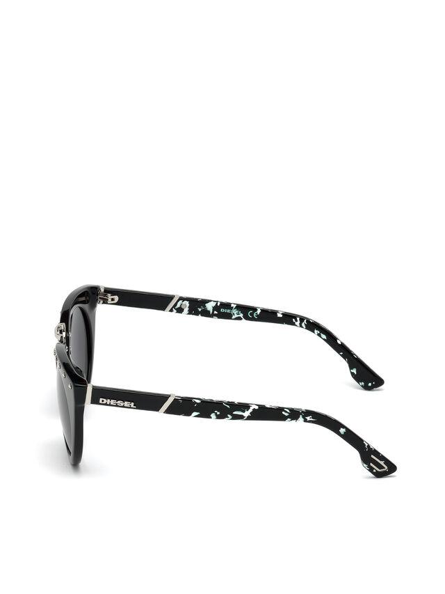 Diesel - DL0211, Negro - Gafas de sol - Image 3