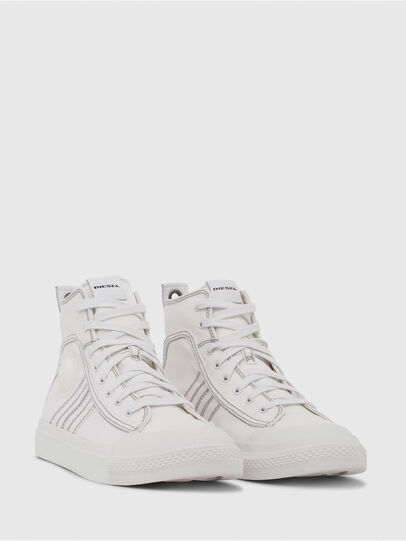 Diesel - S-ASTICO MID LACE, Blanco - Sneakers - Image 2