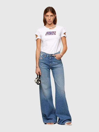 Diesel - T-BULLOCK-A2, Blanco - Camisetas - Image 5