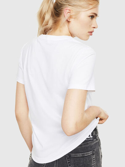 Diesel - T-SILY-WMA, Blanco - Camisetas - Image 2