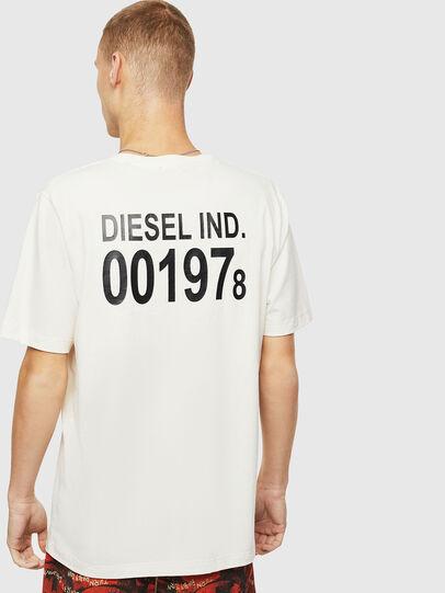 Diesel - T-JUST-VINT, Blanco - Camisetas - Image 2