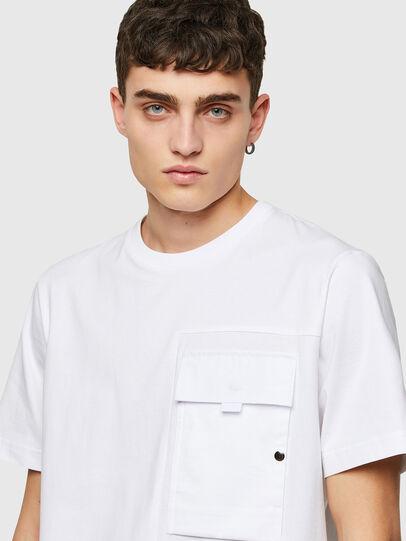 Diesel - T-WORKAN, Blanco - Camisetas - Image 3