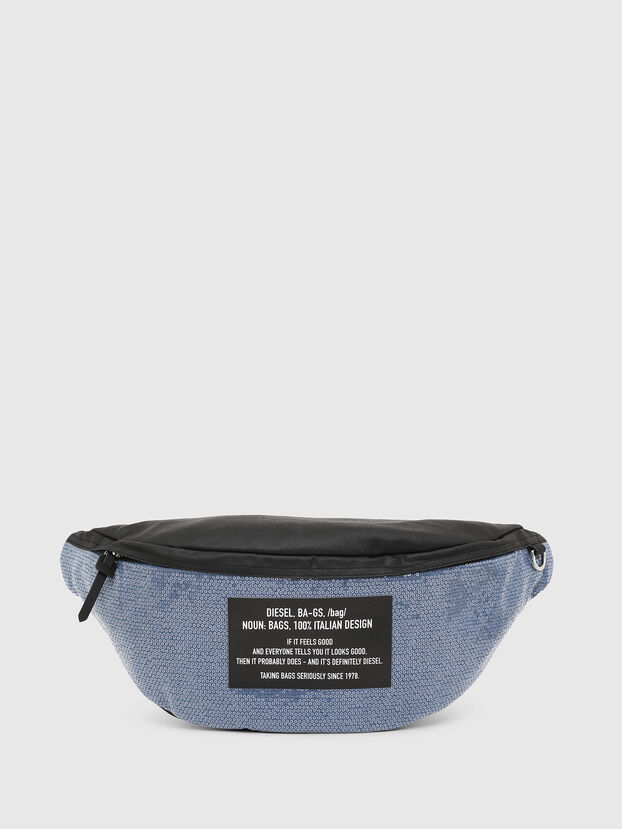 D-THISBAG BELT, Azul/Negro - Bolsas con cinturón