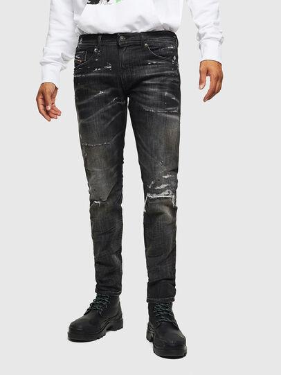 Diesel - Thommer JoggJeans 0098E, Negro/Gris oscuro - Vaqueros - Image 1