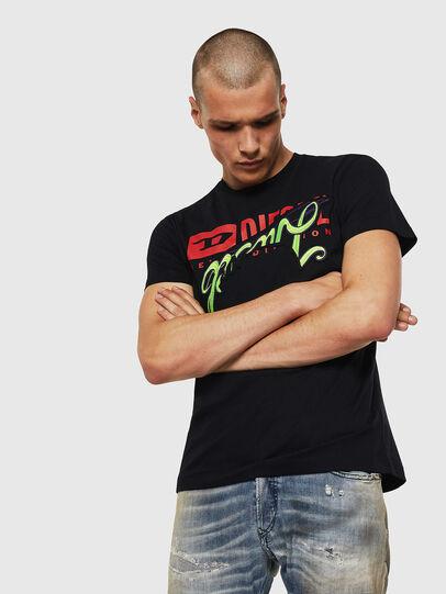 Diesel - T-DIEGO-BX1, Negro - Camisetas - Image 1