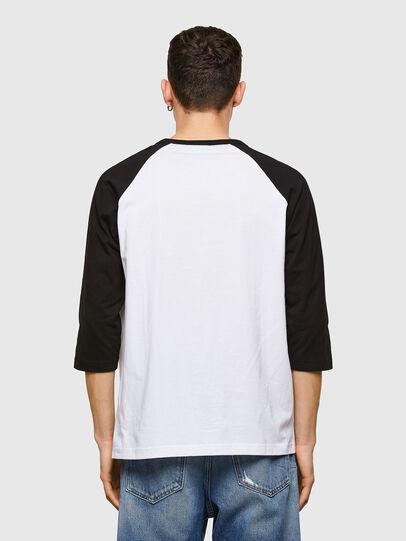 Diesel - T-BEISBOL, Blanco - Camisetas - Image 2
